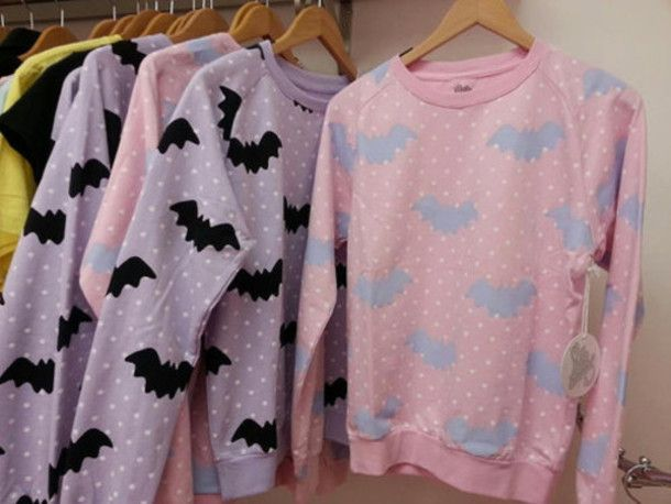 Pastel Goth Cute Sweaters - Shop for Pastel Goth Cute Sweaters on ...