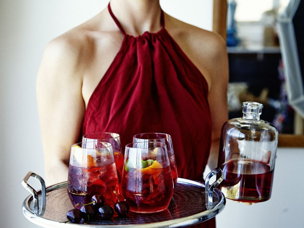Regal Rogue Rosso cocktails for four!