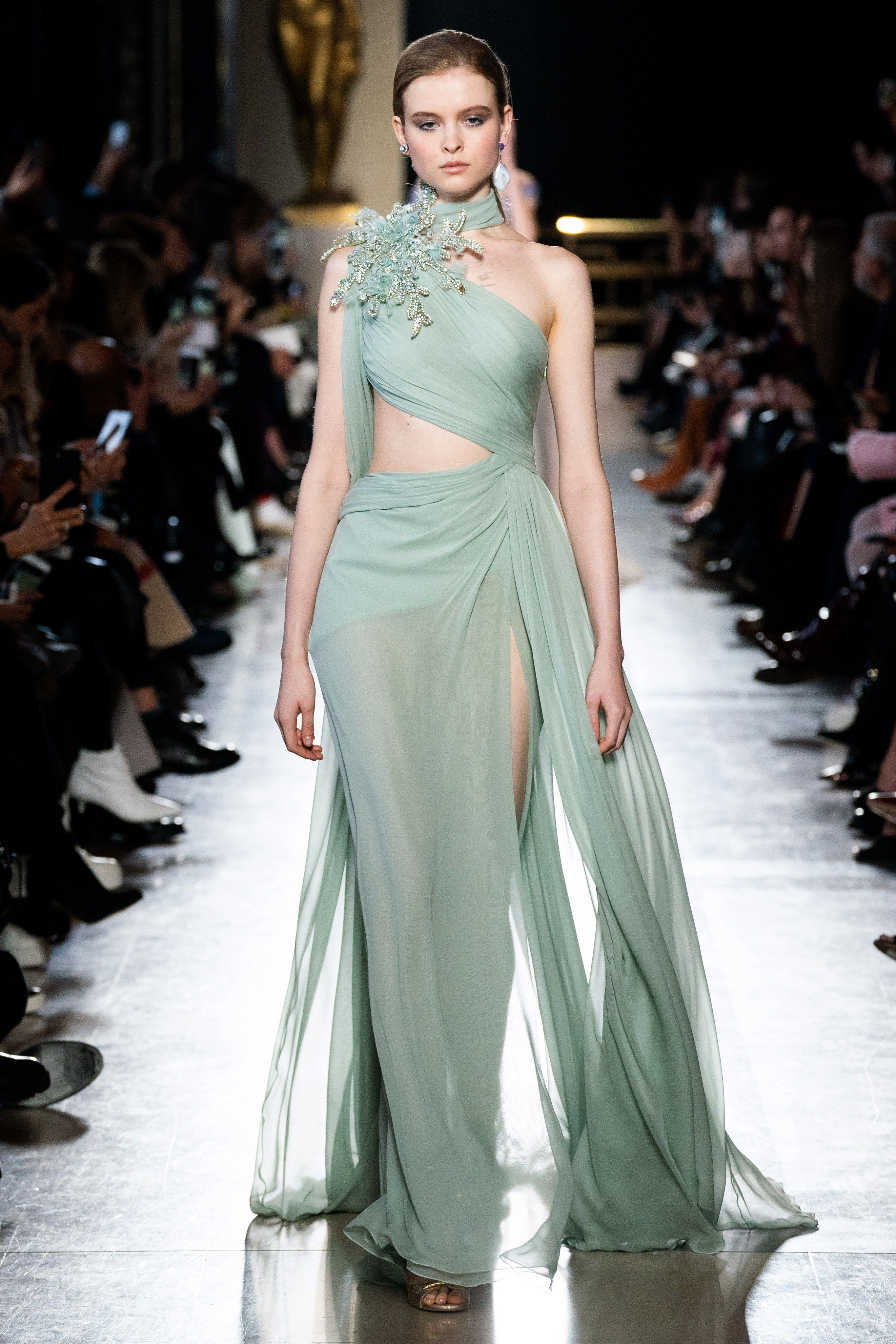 Elie Saab Spring 2019 Couture Fashion Show