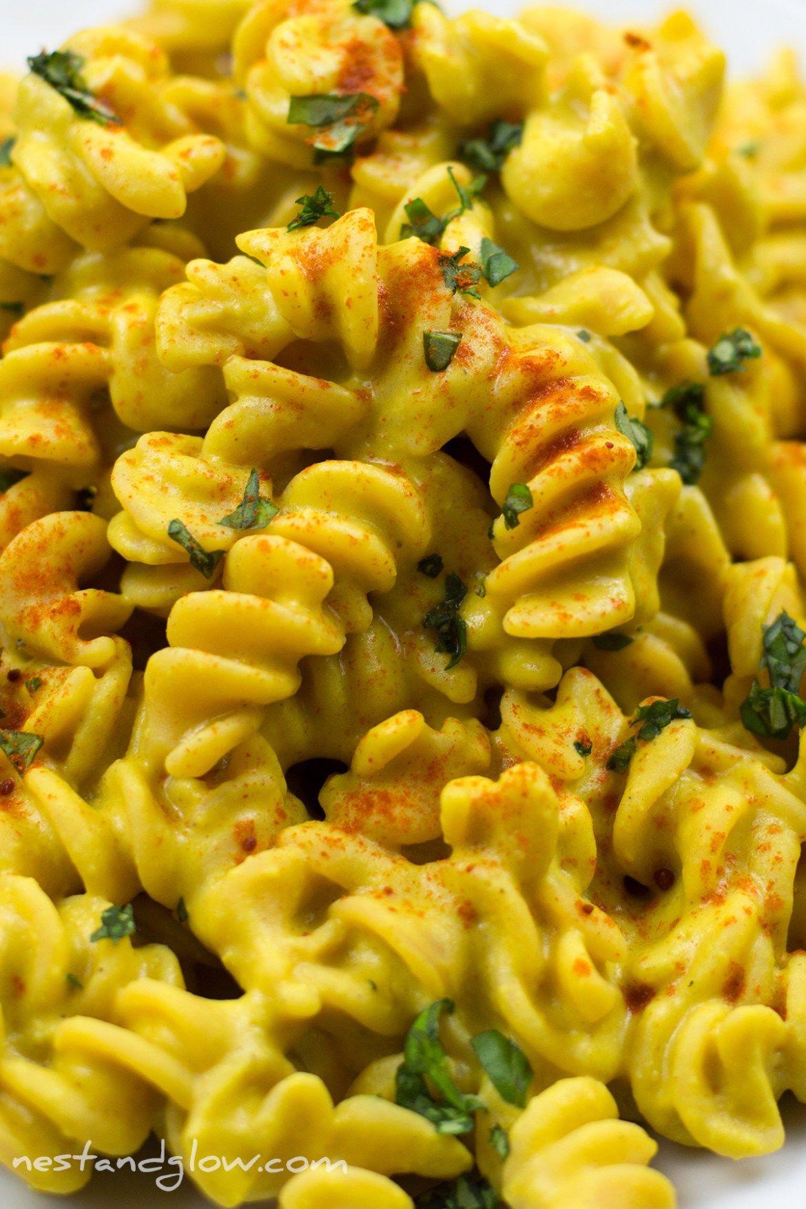 Cheesy Vegan Protein Pasta