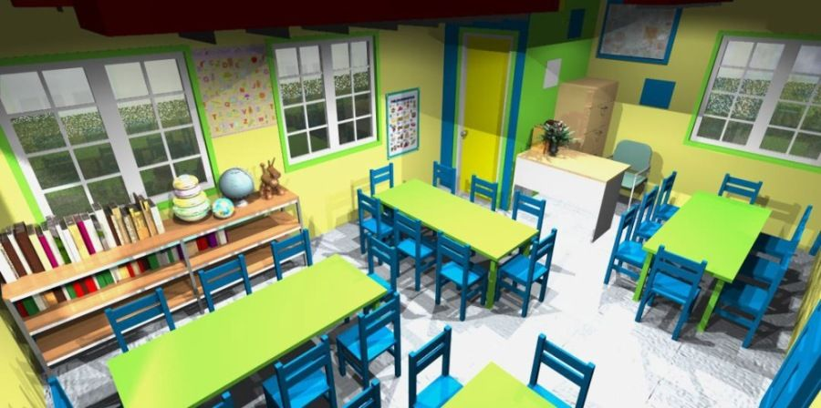Marvelous Daycare Interior Paint Designs | Interior Design For Day Care Centers2