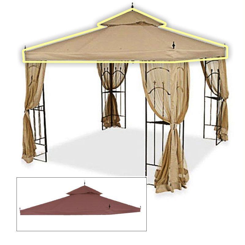 Home Depot Arrow Gazebo Replacement Canopy Cover Garden ...