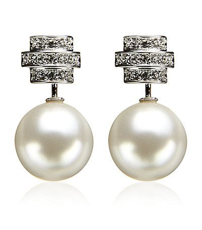 5da842d7e0f6 Swarovski Perpetual Pierced Earrings
