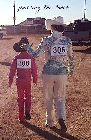 Best part of a horse show