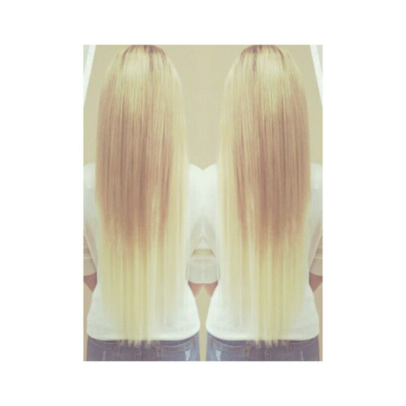 100g Hot Fusion Hair Extensions Call Text 647 779 3203 To Book