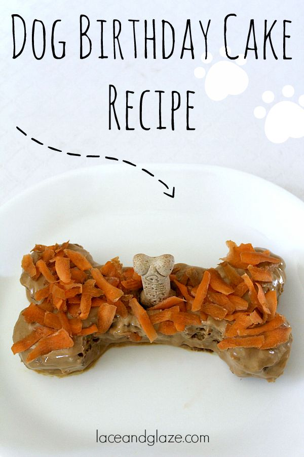 Dog Birthday Cake Recipe That People Can Eat Too Carrots
