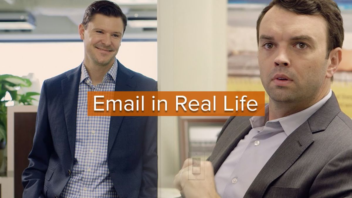 office cliches. An Office Of Workers Act Out Email Clichés In Real Life Cliches