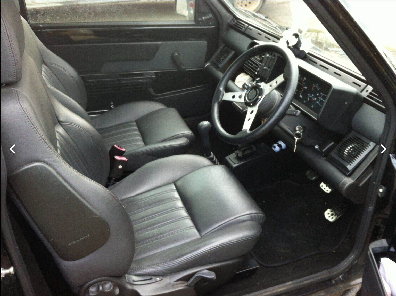 Custom interior in a classic Fiat Panda 4x4 141A. Built by Limited ...