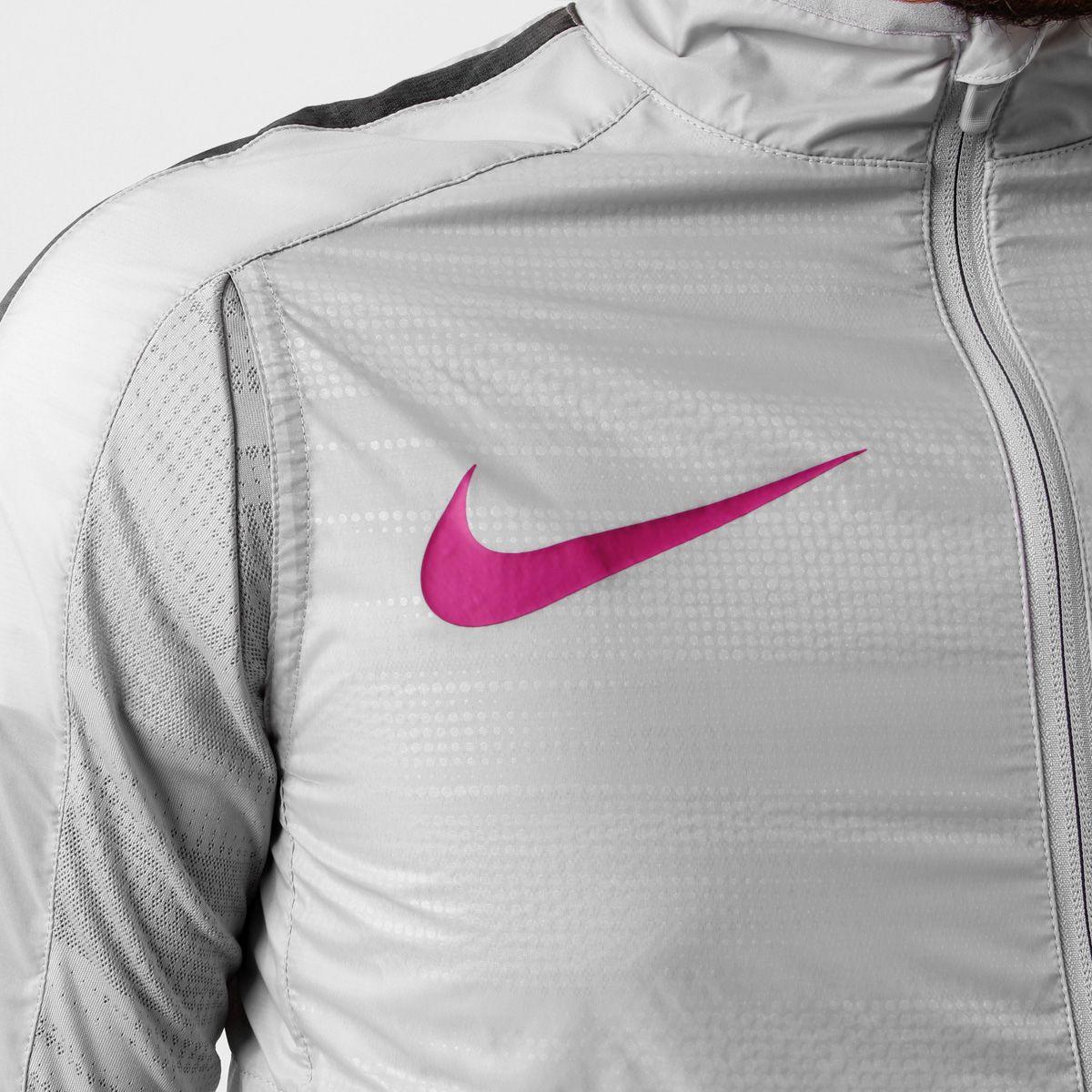 03deef24ace Jaqueta Nike GPX Woven Lightweight Cinza e Violeta