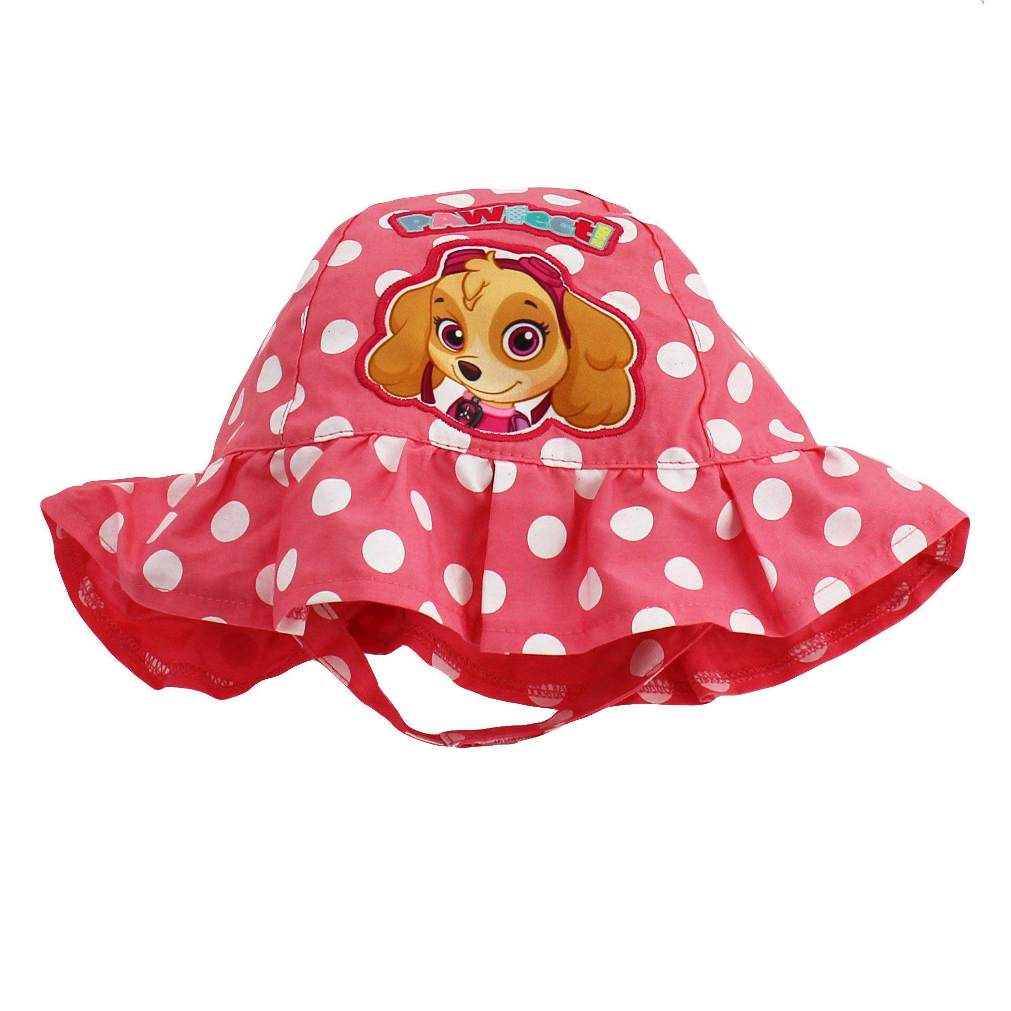 64d19af9a Paw Patrol Nickelodeon Nick Jr Skye Toddler Girls Sun Hat Bucket Hat ...