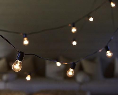 Outdoor String Lights Pinterest : Tarrazzo Outdoor String Lights On Gardenista Pinterest String lights, Lights and Outdoor