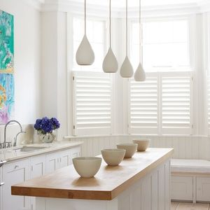 cafe style kitchen shutters - Shaker Cafe Ideas