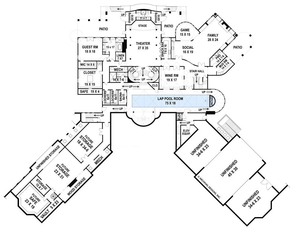 Balmoral House Plan Balmoral House Castle House Plans Castle Plans