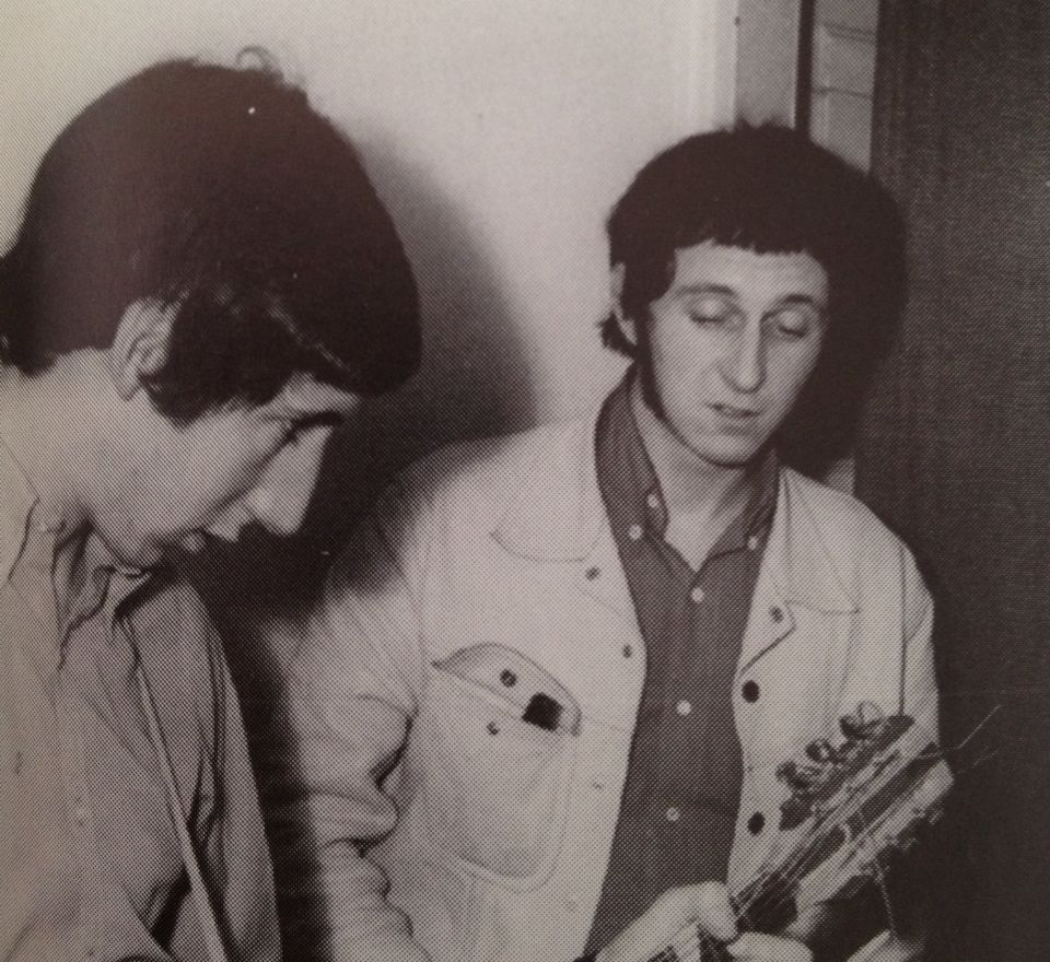 John Entwistle and Pete Townshend in Sweden