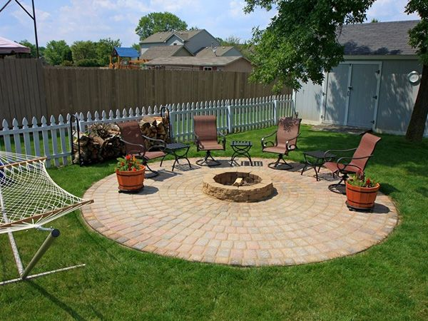 backyard landscaping ideas to inspire you backyard fire on backyard fire pit landscaping id=65880