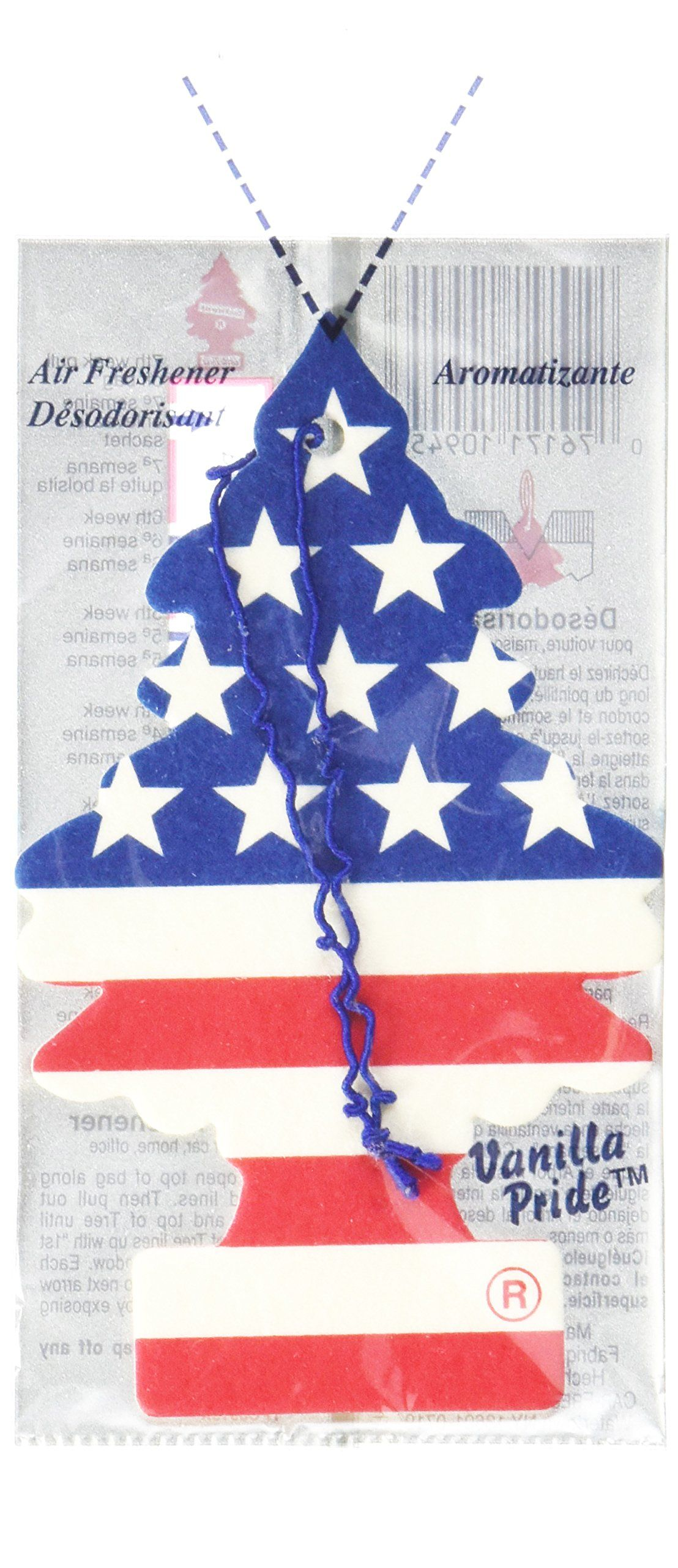 LITTLE TREES Car Air Freshener Hanging Paper Tree for Home