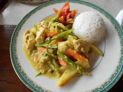 Recette Poulet à La Balinaise Cuisine Balinaise Pinterest - Cuisine balinaise