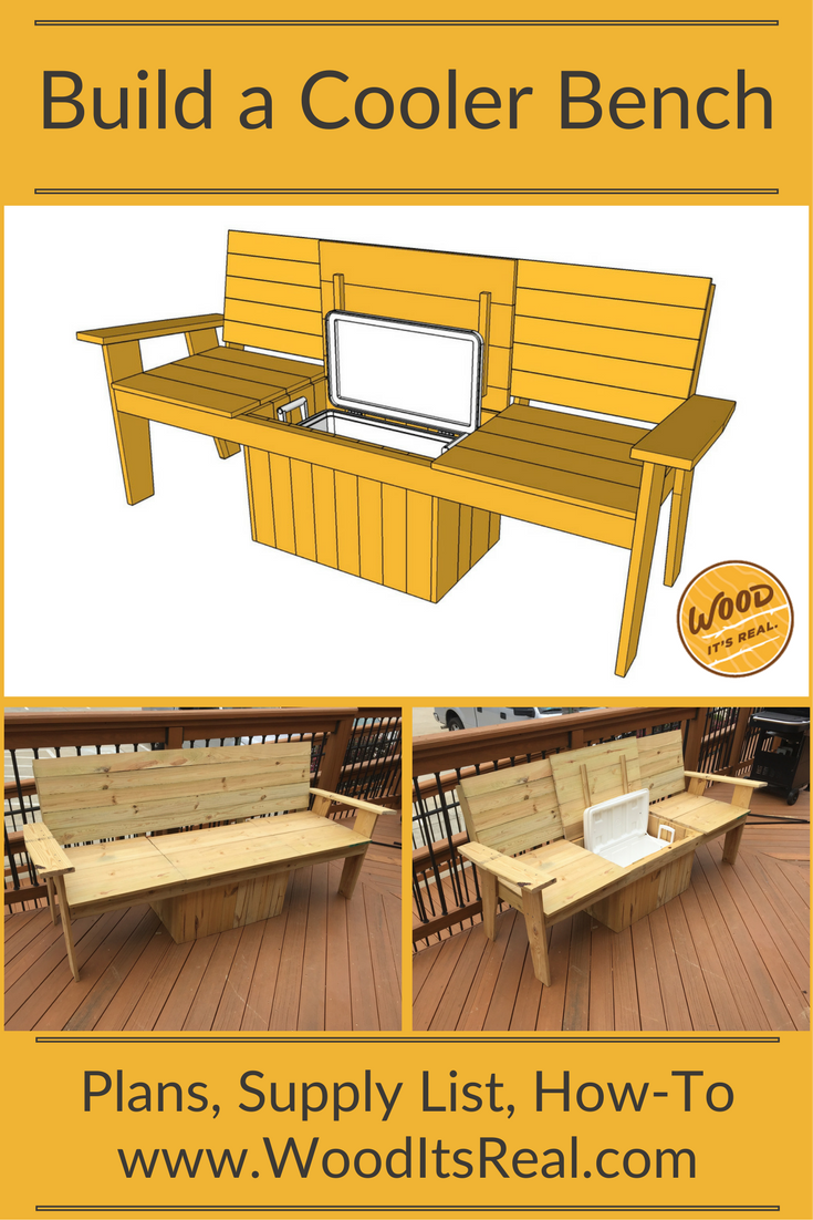 Amazing Southern Yellow Pine Cooler Bench From Wood Its Real Gmtry Best Dining Table And Chair Ideas Images Gmtryco