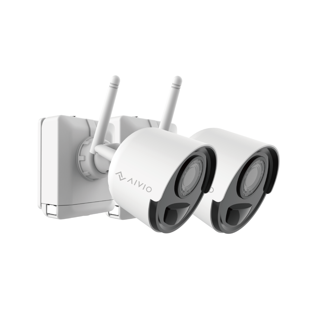 Wireless Rechargeable Battery WiFi Cameras, 1080P Wire