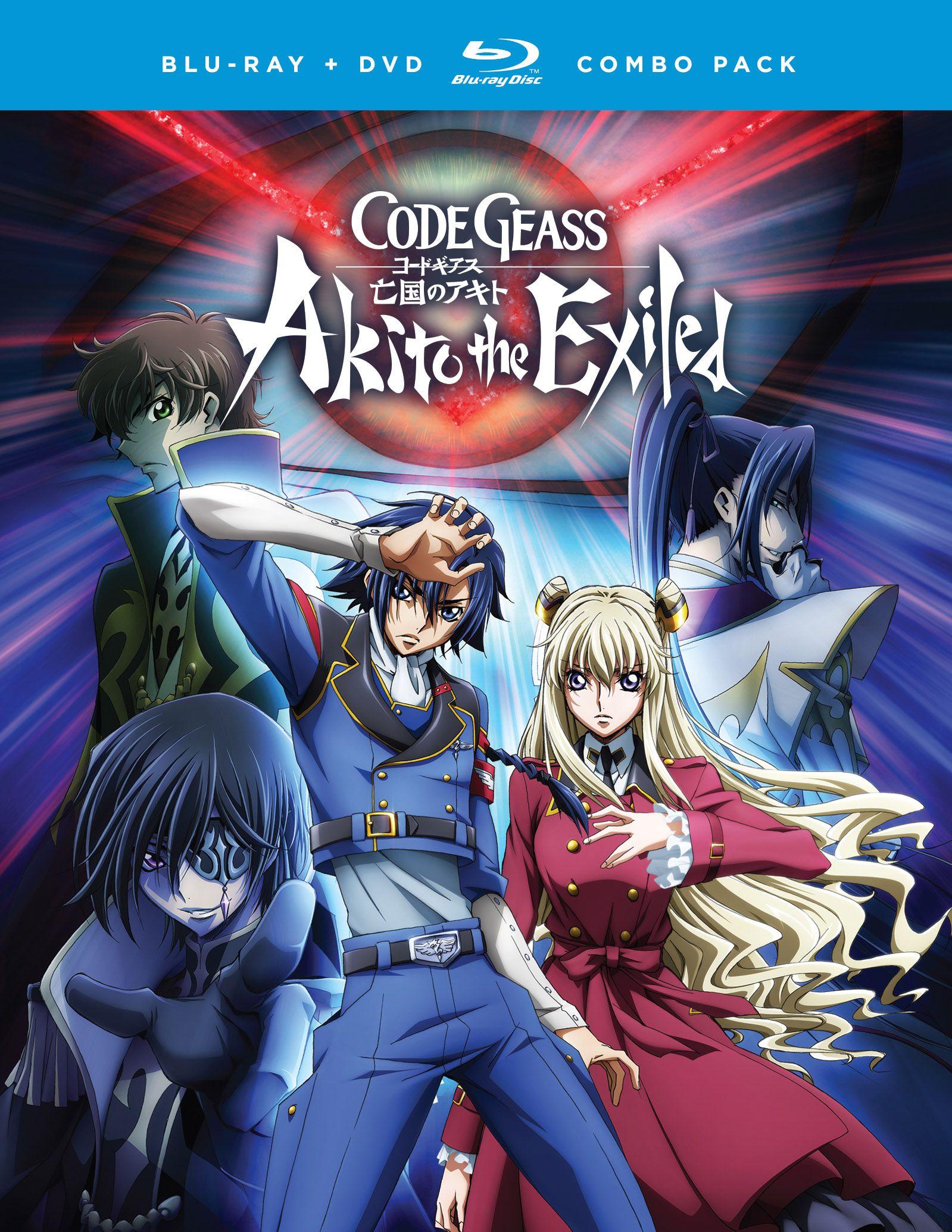 Code geass akito the exiled bluraydvd anime