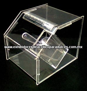 dulceras de acrilico exhibidores de acrilico para dulces muebles para dulces a granel. Black Bedroom Furniture Sets. Home Design Ideas