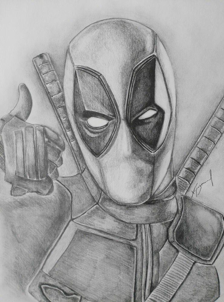 Pin De Batrusko Em Cizim Fikirleri Desenhos Deadpool Desenhos A