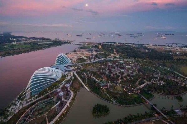 新加坡濱海灣花園冷卻溫室館榮獲2012 WAF 最佳建築獎