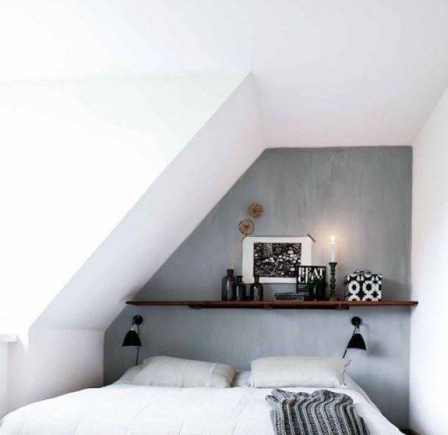 Schlafzimmer Dachschrage Gestalten