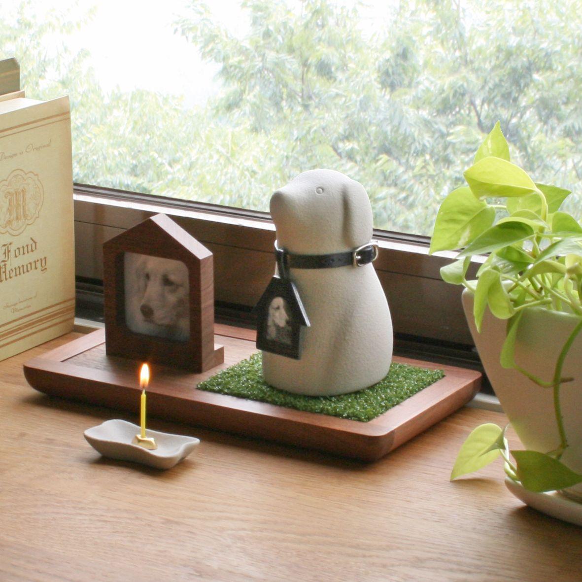 優しい雰囲気のペット用骨つぼ Coccolino ペット 骨壷 ペット 仏壇 仏壇