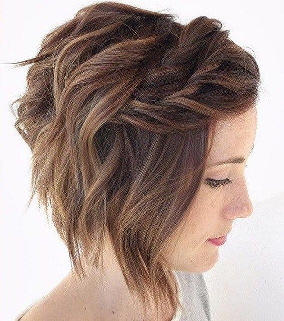 Pretty short hairstyle ideas