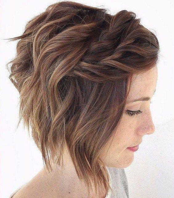 Pretty short hairstyle ideas #shorthair #haircut