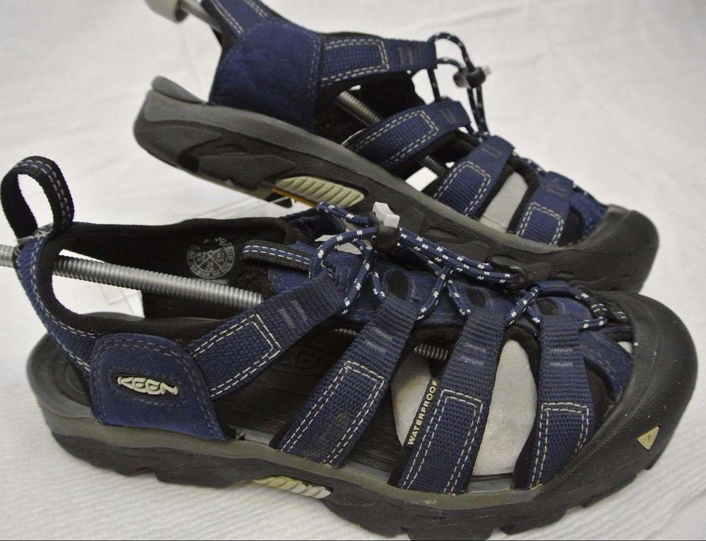 e7e3848bbca Keen Blue Commuter Bike Sandals Clipless Cycling Shoes w  SM SH51 Men s 8 M   KEEN  Sandals