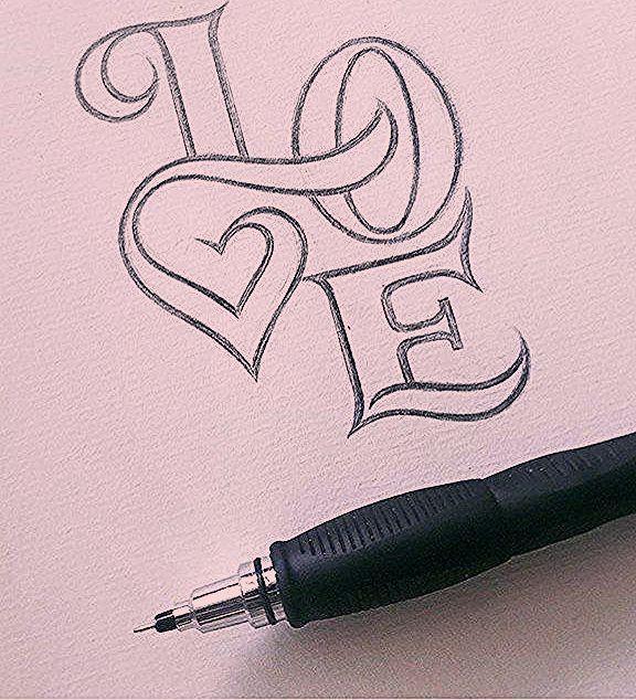 Photo of Lustige Zitate: Caligraphie coeur #SaintValentin #coeur #Valentinsday #guirlande #love … – …