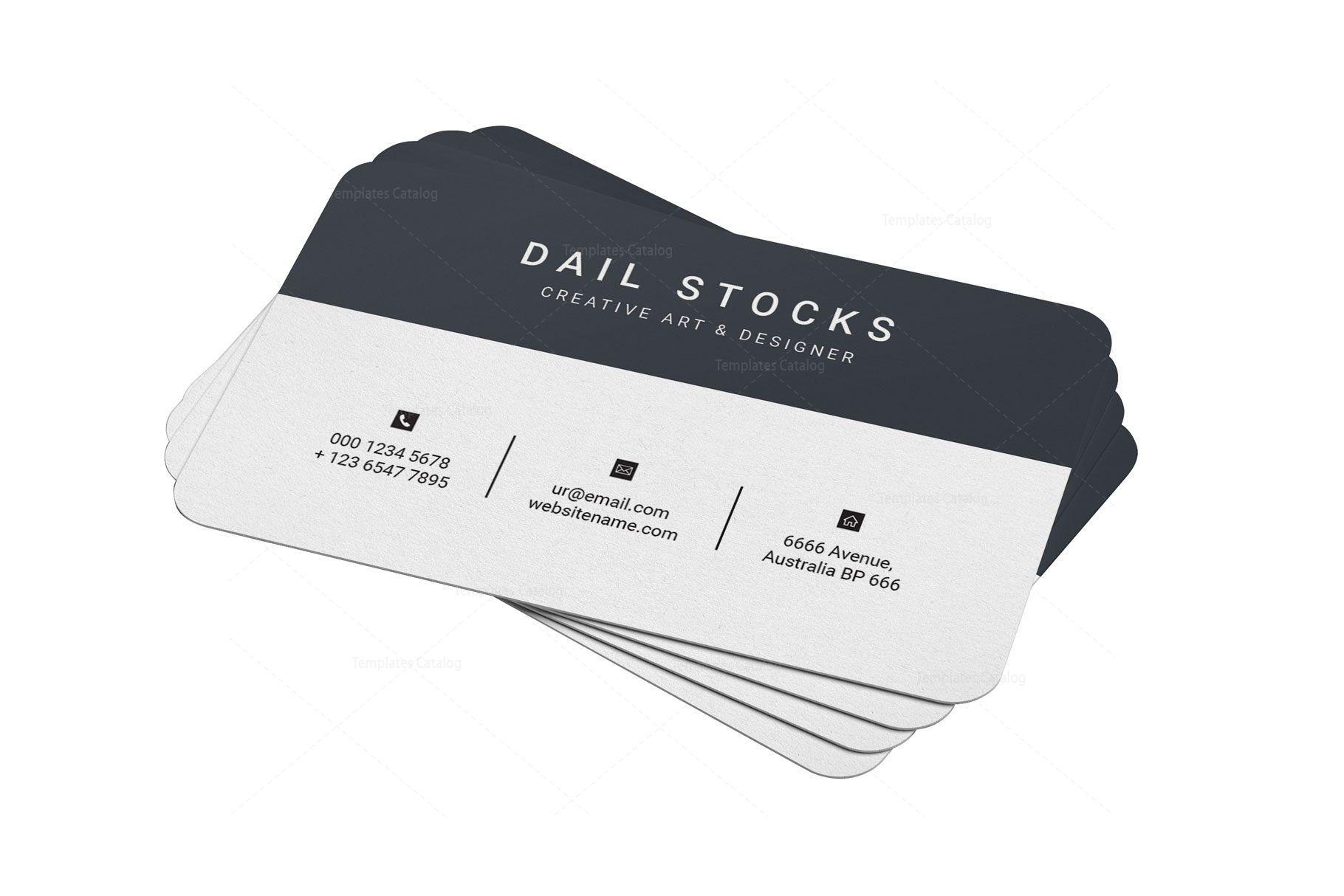 Emerald professional business card design professional