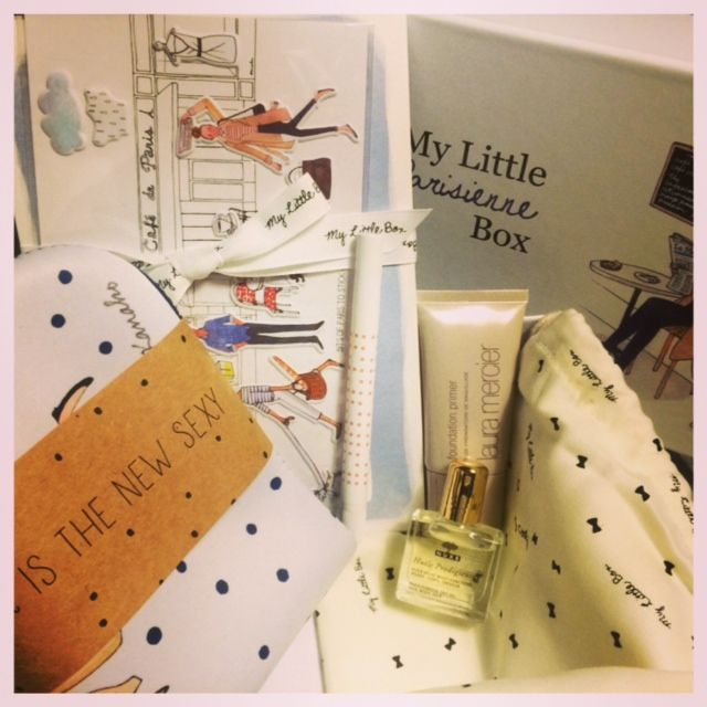 My Little Parisienne Box - A review of My Little Beauty Box and the first UK box's contents: http://mrsjonasrecommends.com/2014/09/little-parisian-box/