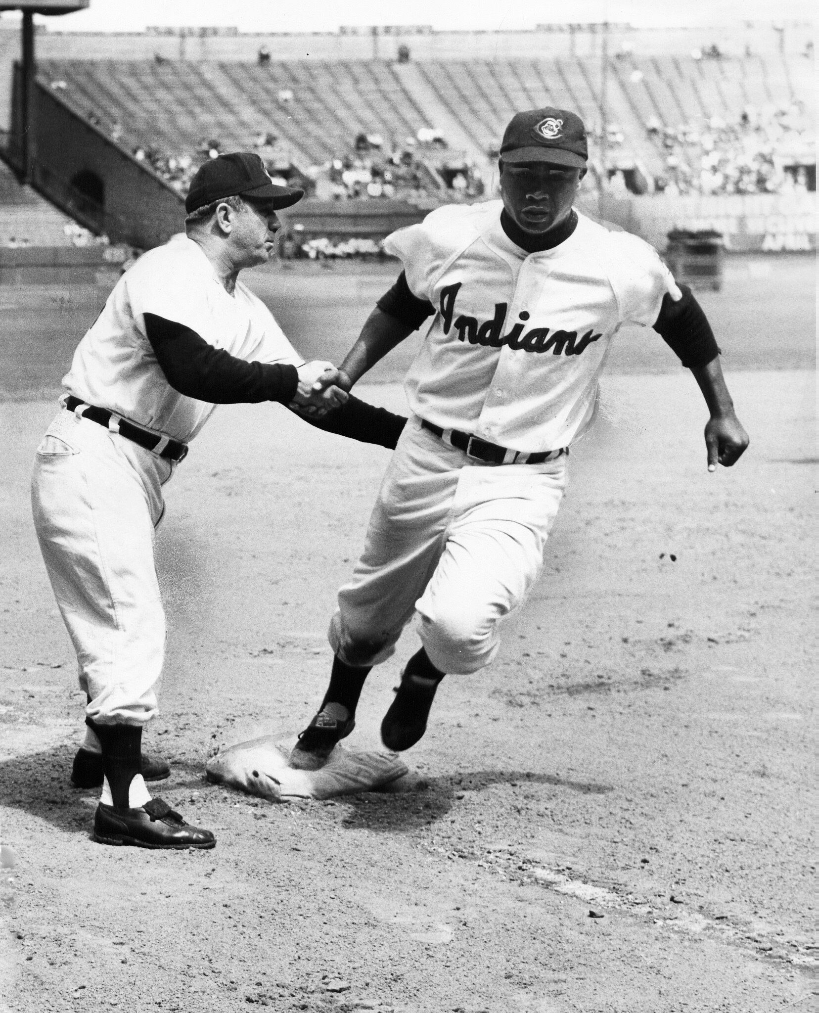 Pin By Pete Reilly On Indians Cavaliers Browns And Cleveland Sports Cleveland Indians Baseball Indians Baseball Larry Doby