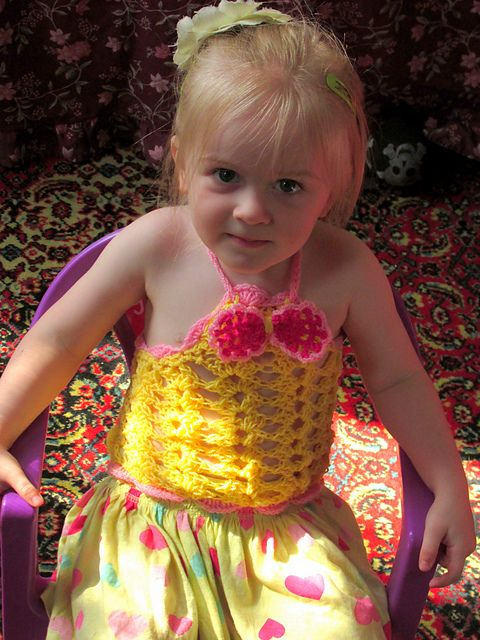 Toddler crop top pattern by Andree Tünde | Cosechas, Tapas y Patrones