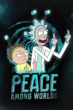 Wallpaper Rick And Morty Iphone In 2020 Rick And Morty Poster Rick I Morty Rick And Morty
