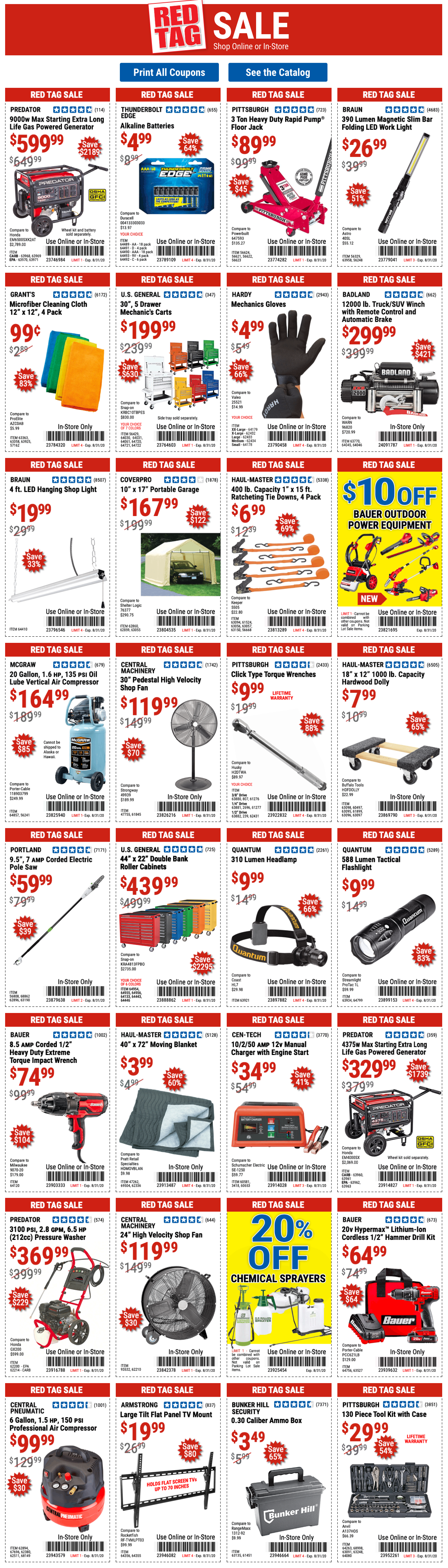Harbor Freight Coupons Expired 31/8/2020 in 2020 Harbor