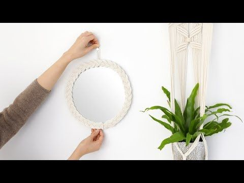 Photo of Macrame living bathroom wall mirror decoration props missmone com(Marcrame living bathroom wall mirror decoration)
