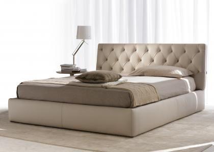 Letto Contenitore Pelle.Tribeca Leather Bed Letto Matrimoniale Contenitore Stanze Da