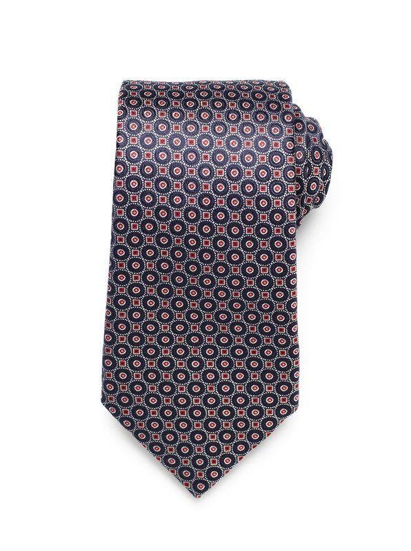 Small Medallion Tie - Red (http://noeliasanchez.jhilburn.com/products/small_medallion_tie_ss13/red) $89