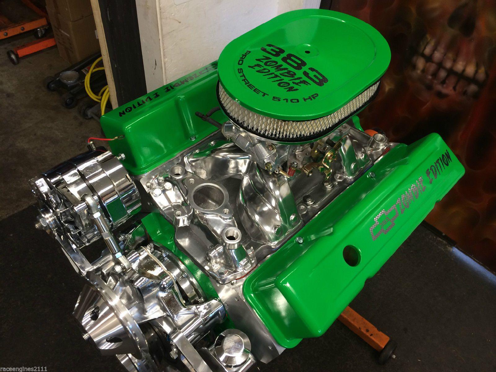 383 stroker motor theme 510hp roller turnkey option pro st for Ebay motors parts for sale