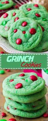 GRINCH COOKIES  Christmas Cookies