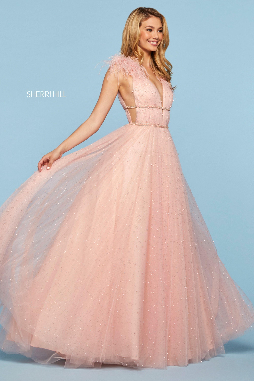 Sherri Hill 53413 Dresses Blush Prom Dress Sherri Hill Dresses [ 3000 x 2000 Pixel ]