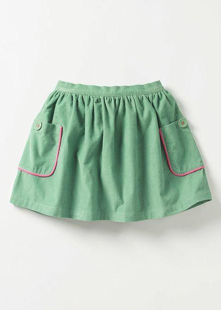 841cd0f14 Pocket Cord Skirt | Boden | A Little Bohemian Girl | Skirts for kids ...