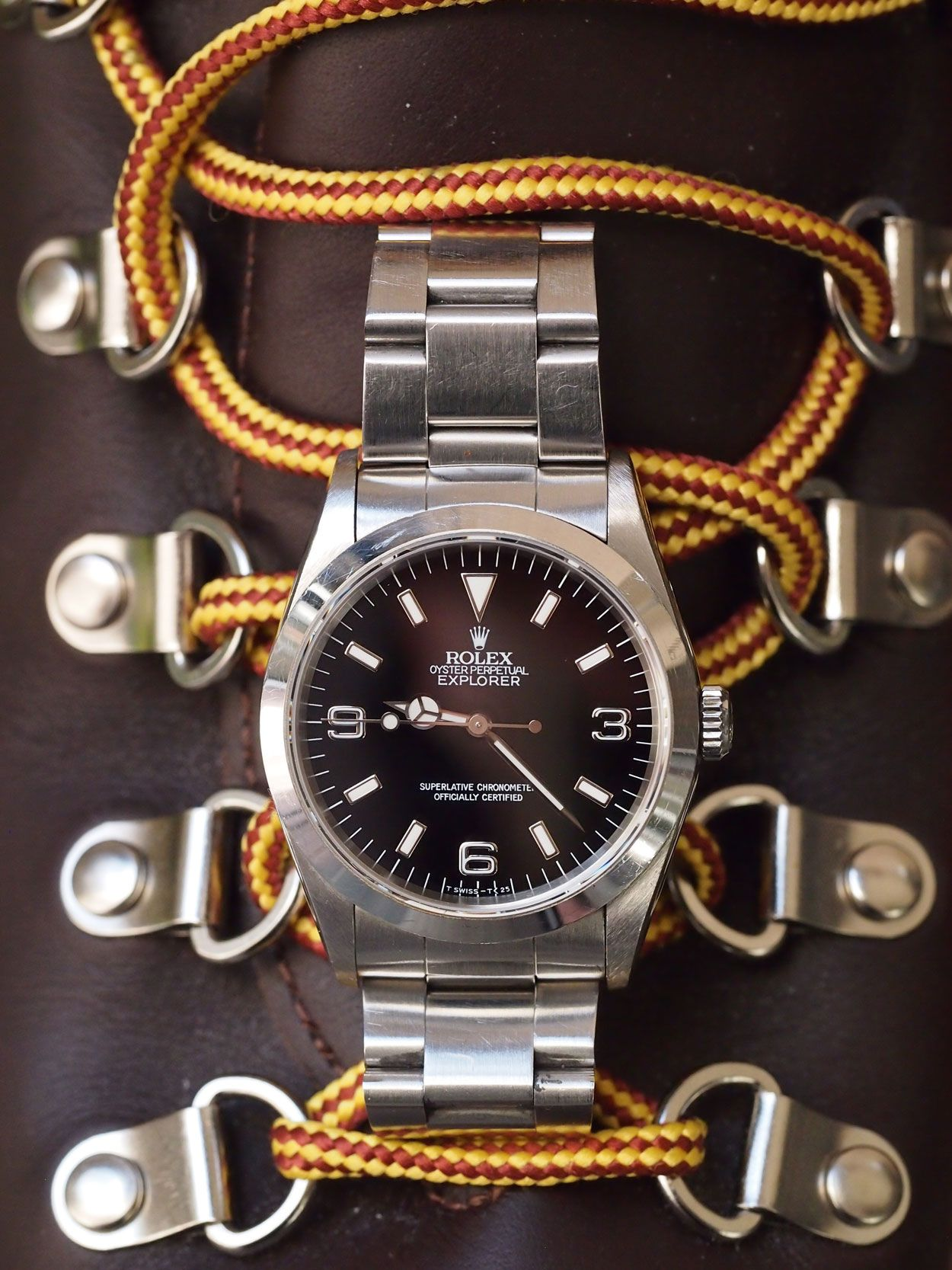 07601d72399 A  tbt article by Fratello Watches contributor Michael Stockton on his  Rolex Explorer 14270. The perfect understated watch from Rolex.