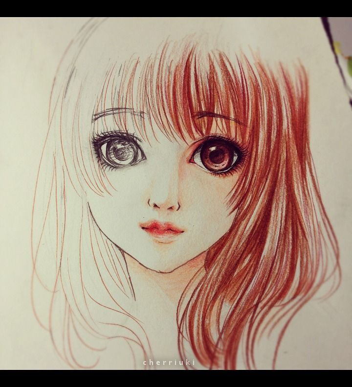 Color pencil doodle wip inspired by bjd
