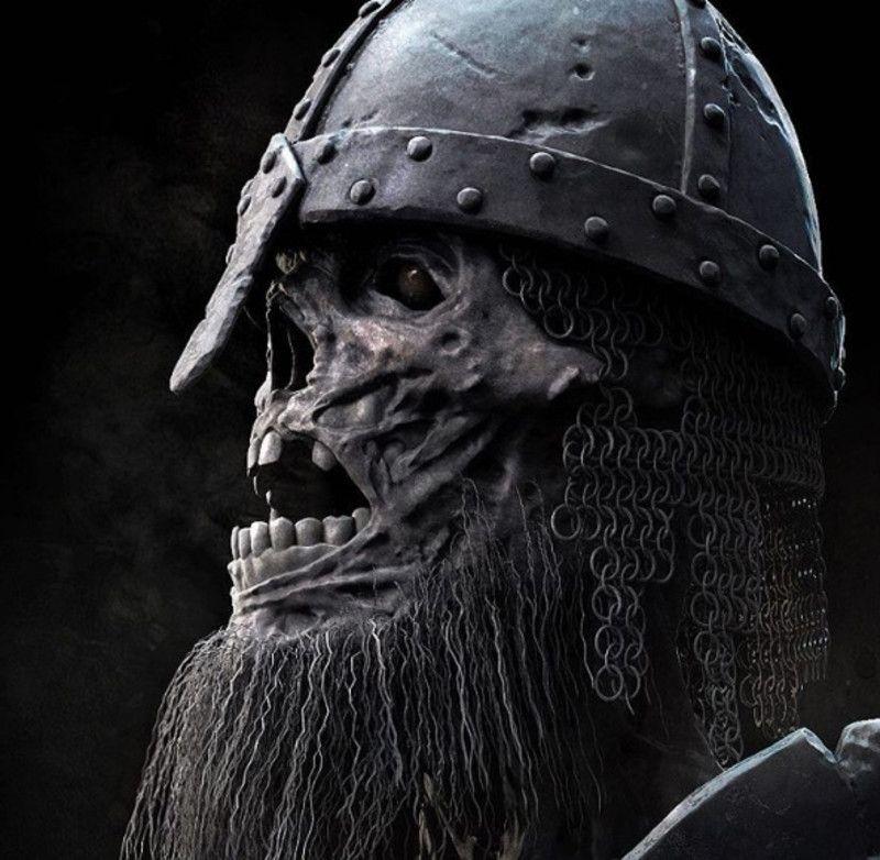 Artstation Berserker By Dmitry Parkin Viking Skull Viking Tattoos Viking Art