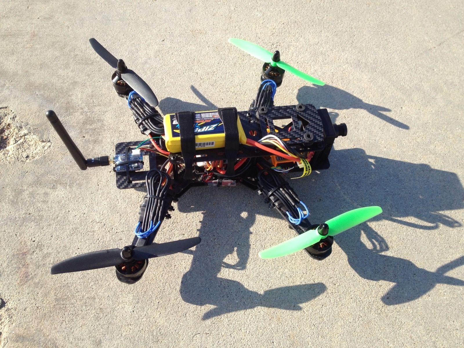250 Fpv Racing Quad Race Drone Bind N Fly Quadcopter Ebay Wiring Diagram